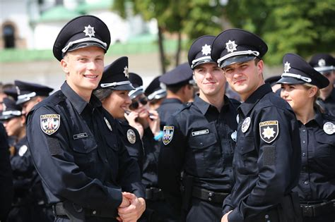 Ukraine's New Generation Of Police Officers