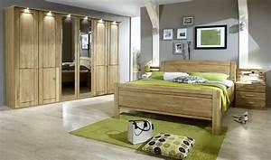 Schlafzimmer Komplett Set : schlafzimmer eiche teilmassiv 7teilig cuman4 ~ Watch28wear.com Haus und Dekorationen