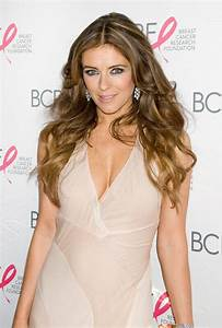 Elizabeth Hurley flashes butt at Hot Pink Party in New ...
