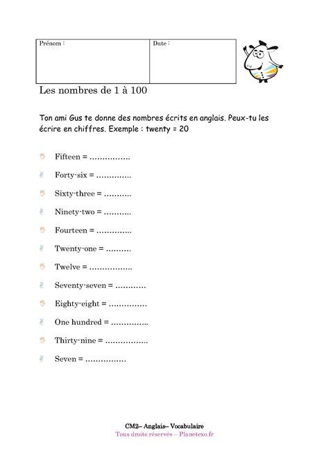 cuisiner langue de boeuf comment écrire les chiffres en anglais