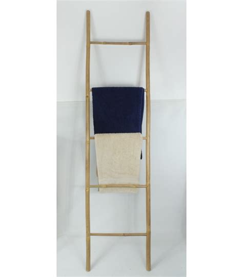 porte serviettes echelle bambou relax quot broste copenhagen chez wadiga