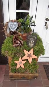 Eingangsbereich Außen Dekorieren : weihnachtsdeko f r den garten garten on pinterest nowaday garden ~ Buech-reservation.com Haus und Dekorationen