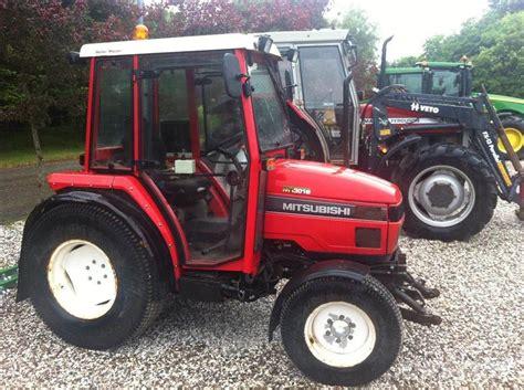 Mitsubishi Compact Tractor by Used Mitsubishi Mt 301 Hd Compact Tractors Year 2000