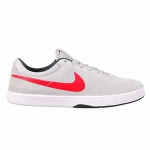 Nike SB Eric Koston Skate Shoes - Grey/Red - Mens ...