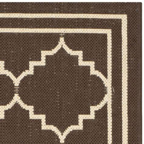 safavieh outdoor rug safavieh courtyard chocolate indoor outdoor rug