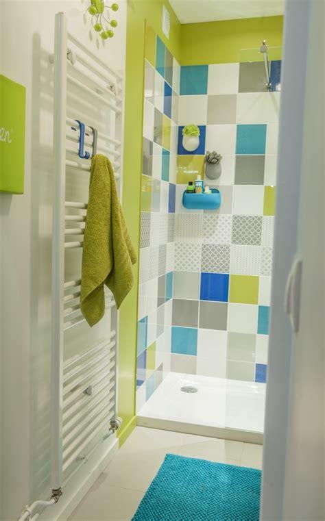 Douche Italienne Bleue  Maison Design Wibliacom