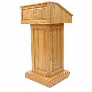 Counselor Wood Lectern