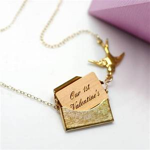 personalised mini love letter necklace by maria allen With love letter jewelry