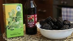 Рецепт чистки печени холосасом и черносливом