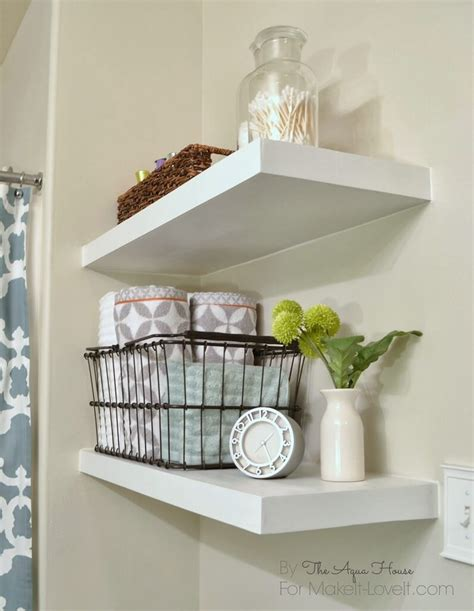 ideas for bathroom shelves 25 best diy bathroom shelf ideas and designs for 2019