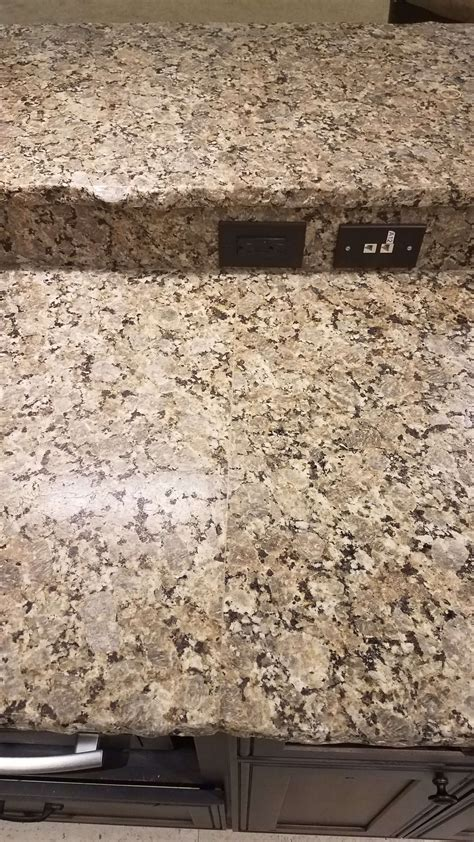 beige butterfly granite with chiseled edge 5 reflections
