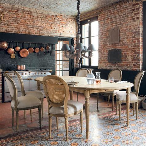 table et chaises salle à manger table et chaise de salle a manger maison du monde chaise