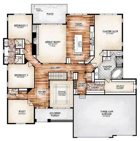 stunning ranch style homes with open floor plans best 25 floor plans ideas on house floor