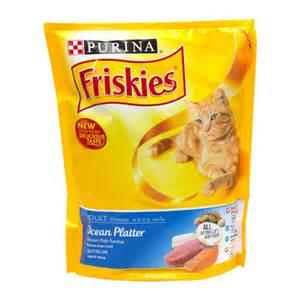 friskies cat food friskies platter food for cats 450g