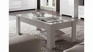 Couchtisch In Weiß Hochglanz : couchtisch amalfi in wei hochglanz lackiert 122x65 cm ~ Markanthonyermac.com Haus und Dekorationen