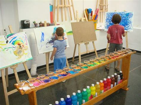 10 Inspiring Art Studios For Kids  Meri Cherry