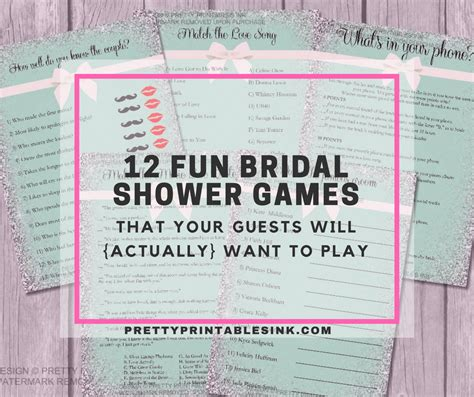 To Play At A Bridal Shower - 12 bridal shower everyone will actually want
