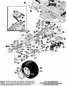 Husqvarna Lt 4140 G  E4014 Rear Steering