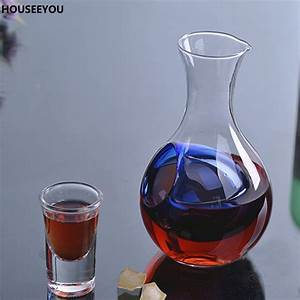 450ml, Unique, Crystal, Glass, Wine, Decanter, Keep, Fresh, Wine, Carafe, Cocktail, Champagne, Cooling, Tools
