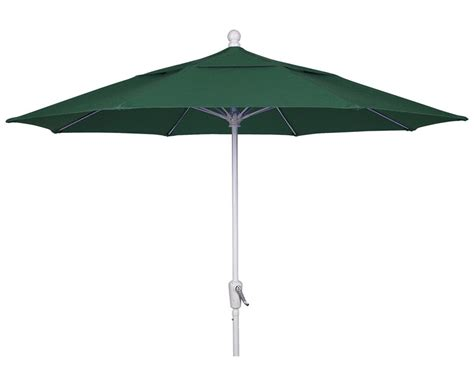 forest green canopy 9 octagon patio crank umbrella