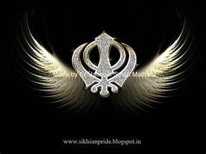 wallpaper: Wallpaper Sikh Khanda