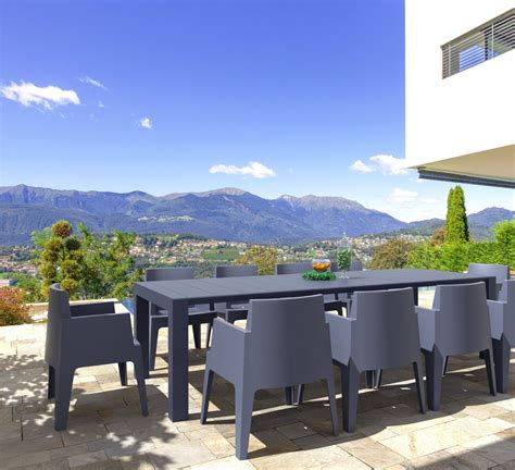 Compamia Vegas Patio Dining Table Extendable