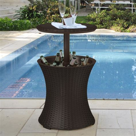 outdoor chest beverage cooler ideas for your patio or deck