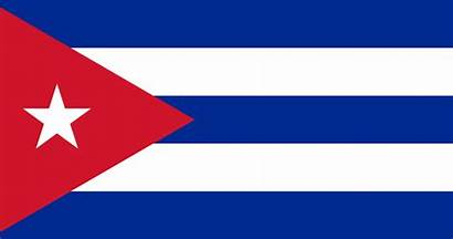 Cuba Bandera Vlag Flag Glossy Glass Independence