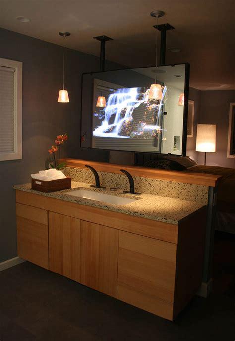 order tv mirror dielectric amp vanityvision glass hidden