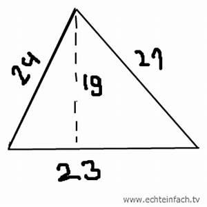 Grundfläche Berechnen Prisma : oberfl che eines prismas berechnen h he 15 cm grunddreieck 24 21 23 cm mathelounge ~ Themetempest.com Abrechnung