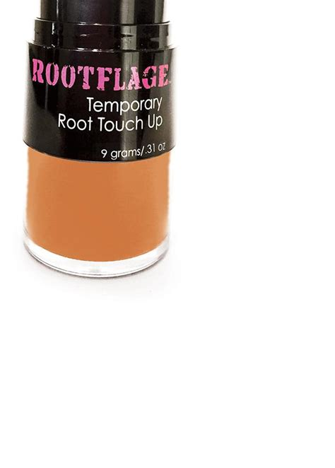 rootflage bright copper temporary root touch  hair