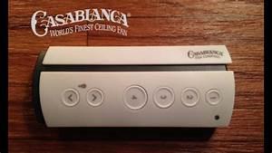 Casablanca Ceiling Fan Remote Control Not Working