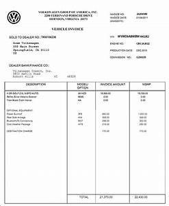 Invoice price car printable invoice template for How to get invoice price