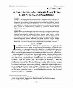 19  Software Development And License Agreement Templates