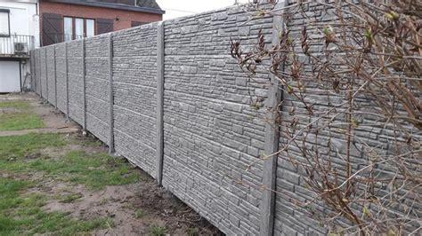 cloture beton prix cl 244 tures et panneaux en b 233 ton par coden prix imbattables