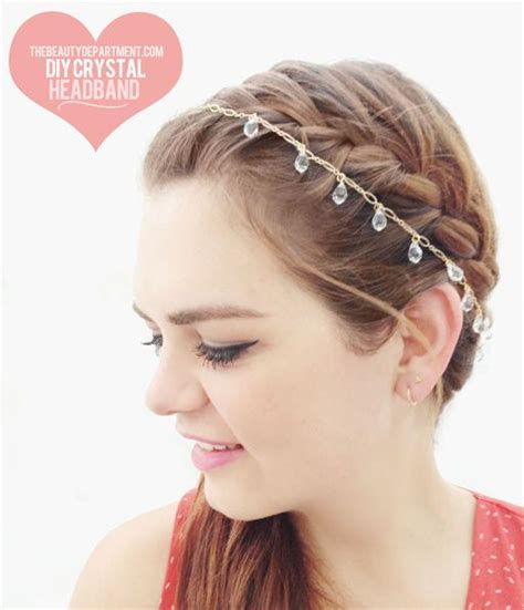 diy bridal hair band or bridesmaid diy summer diy hair accessories and the department