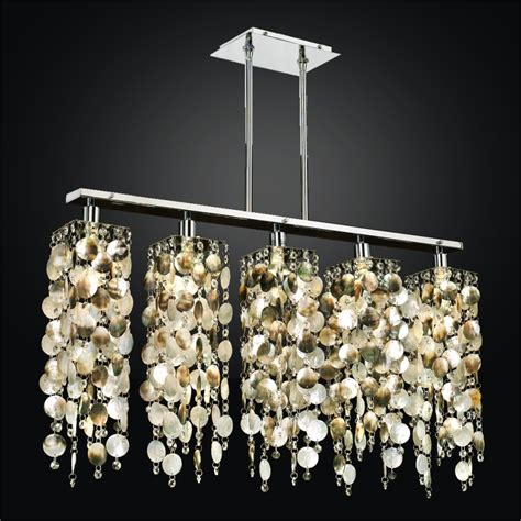 linear chandelier of pearl chandelier chelsea