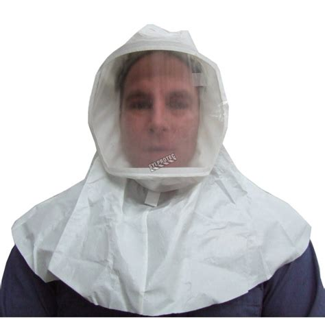 white ml  series hood  respiratory protection systems