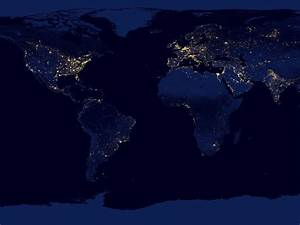 High Resolution NASA Earth at Night From Space - Pics ...