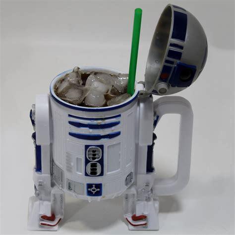 Star Wars R2 D2 Popcorn Bucket and Drink Stein   The Green Head