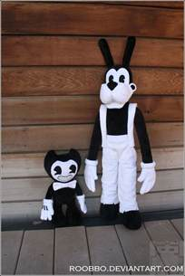 Ink and the Machine Plush Bendy Toys