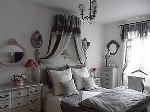 Chambre Shabby Chic : d co tableau personnaliser son int rieur le baldaquin comme dans un lit de princesse ~ Preciouscoupons.com Idées de Décoration