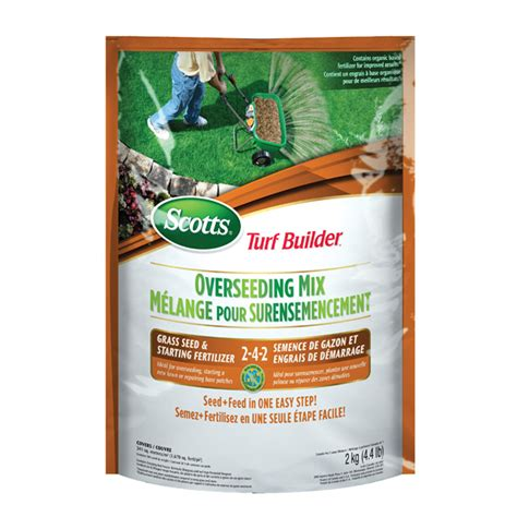 Grass Seed And Fertilizer 242 Rona