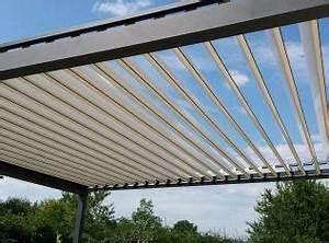 Brise Soleil Horizontal : brise soleil horizontal motoris 4 m x m sur deux pieds ~ Melissatoandfro.com Idées de Décoration