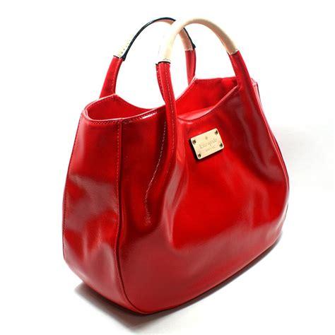 kate spade treesh fulton street black handbag red wkru kate spade wkru