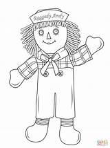 Raggedy Coloring Doll Andy Rag Drawing Dolls Printable Patch Cartoon Cabbage Clipart Ann Paper Getdrawings Games Popular Categories sketch template