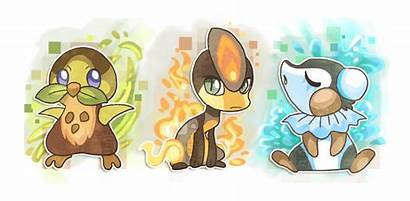 Fakemon Deviantart Starters Griffsnuff Pokemon Type Fake