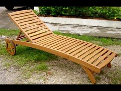 wood chaise lounge chairdesign plans  wood chaise lounge chair youtube