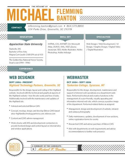 Contemporary Resume by 52 Best Contemporary Resumes Images On Resume