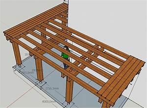 abris bois clermont fd auvergne 63 castor bois of plan With plan terrasse bois suspendue